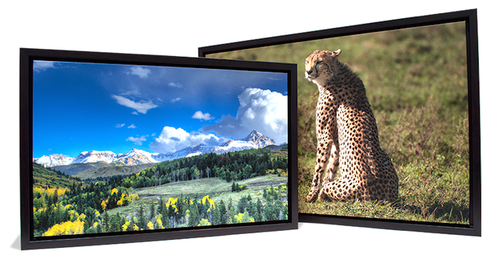 framed gallery wraps with nature images