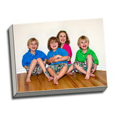 Image of Canvas Print 16 x 12 Gallery Wrap