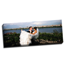 Image of Canvas Print 36 x 14 Gallery Wrap