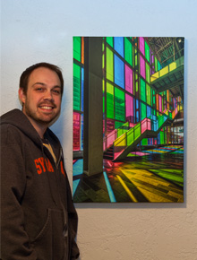 HDR photography on canvas by Brian Matiash